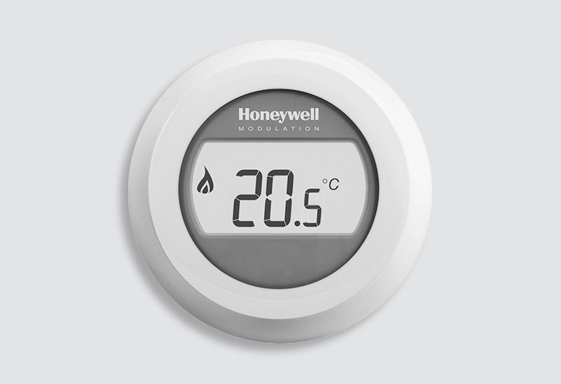 honeywell round thermostaat aanbieding